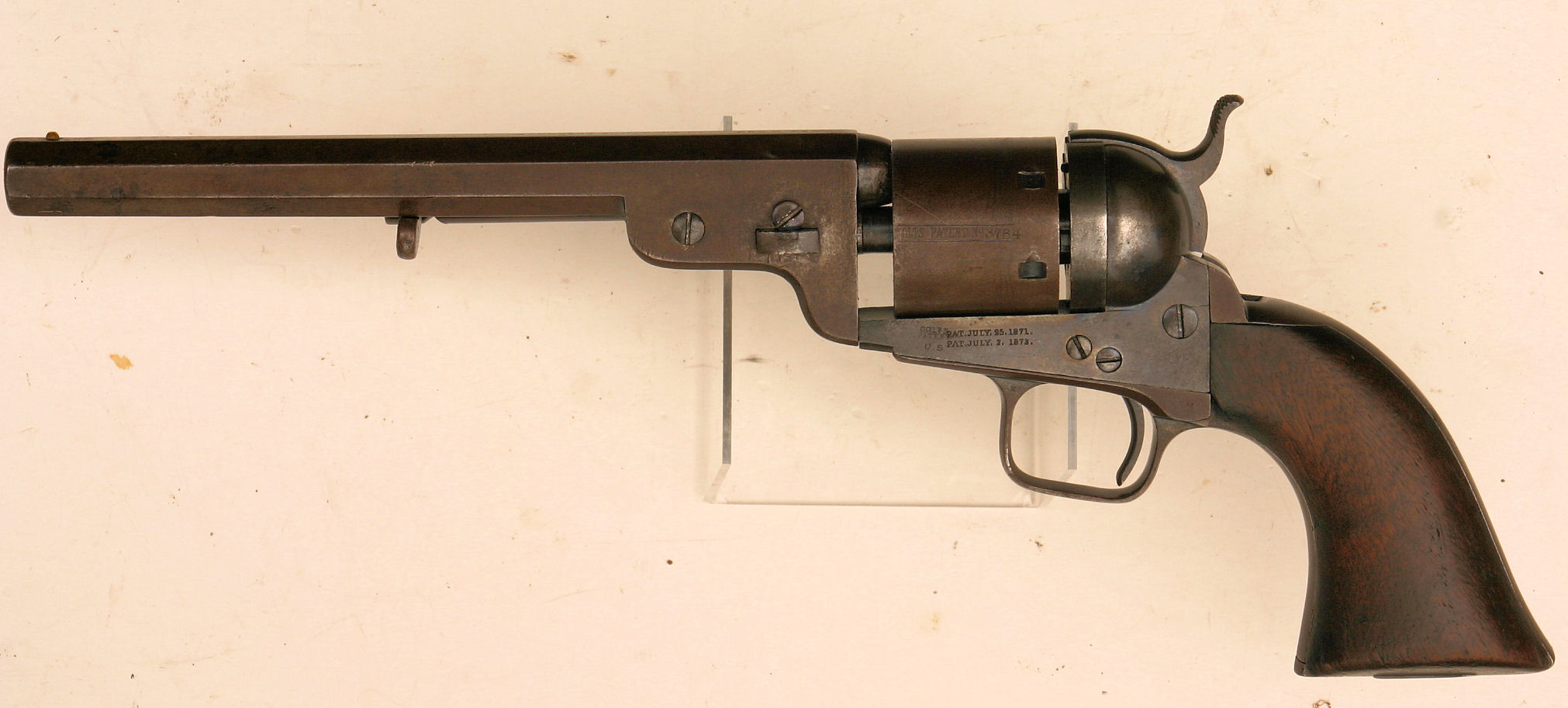 The next design was introduced in 1873, when Colt